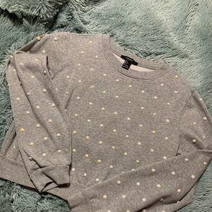 Pearl Cropped sweater